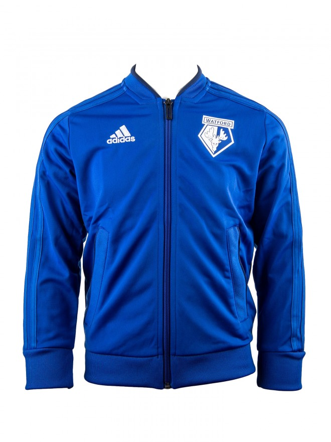 2018 JUNIOR TW BLUE POLY JACKET