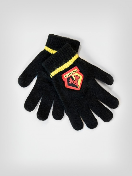 KIDS CREST KNITTED GLOVES