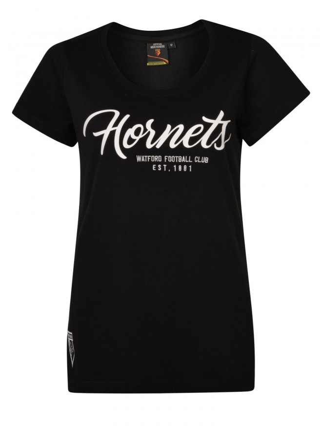 WOMENS HORNETS GRAPHIC TEE