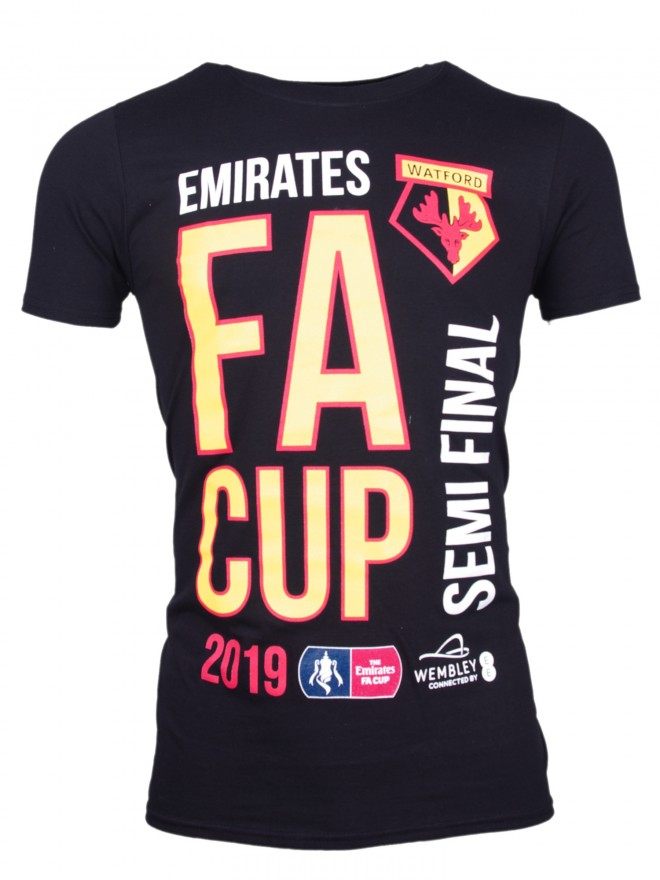 ADULTS OFFICIAL SEMI FINAL BLACK TEE