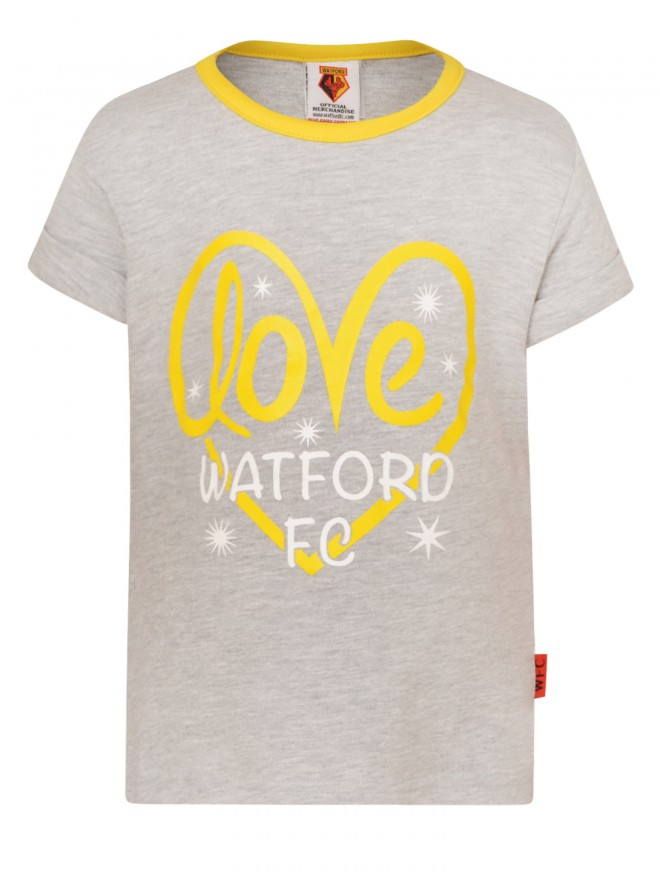 GIRLS LOVE WATFORD TEE