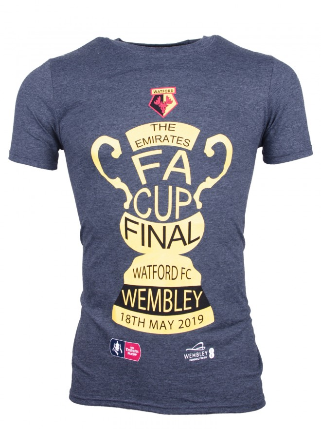 ADULT FA CUP FINAL GREY TROPHY TEE