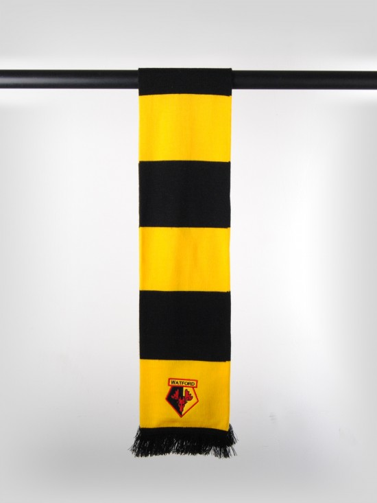 BLOCK COLOUR BAR SCARF