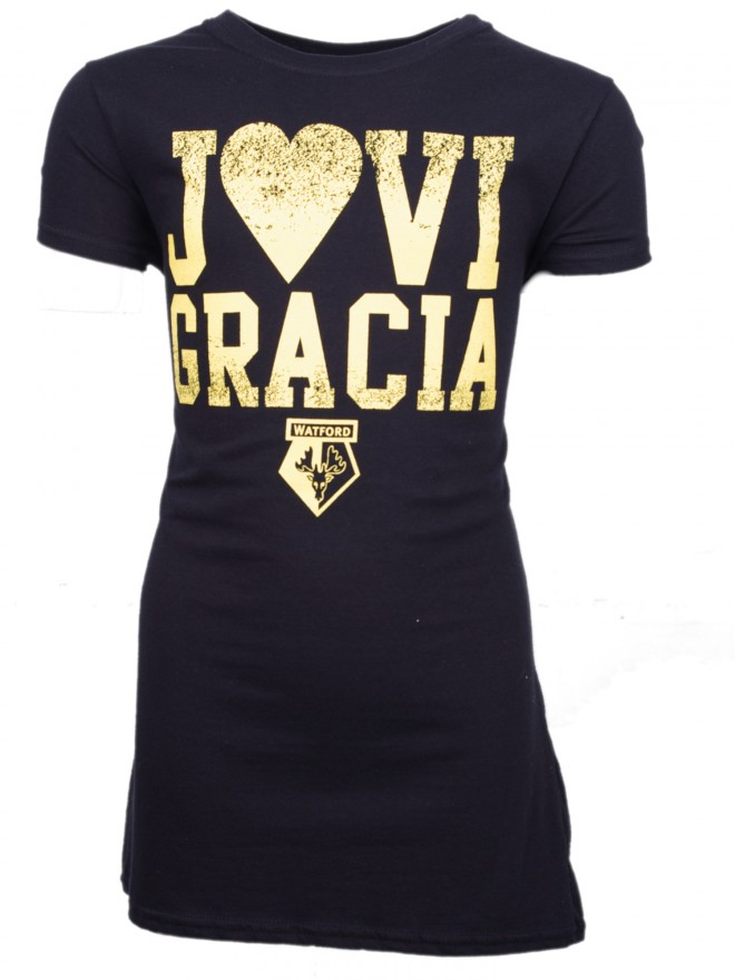 WOMENS BLACK JAVI HEART TEE