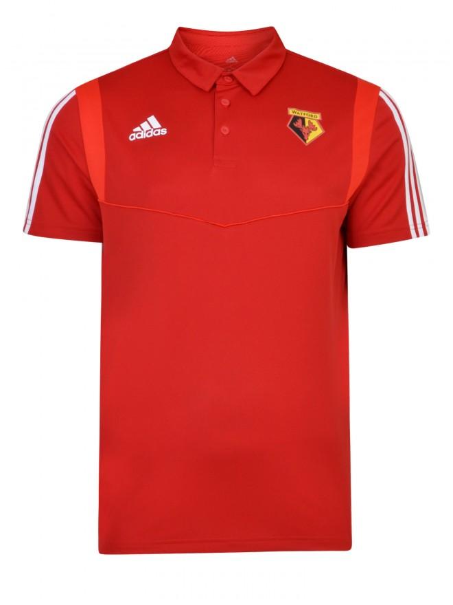 2019 ADULT RED POLY POLO