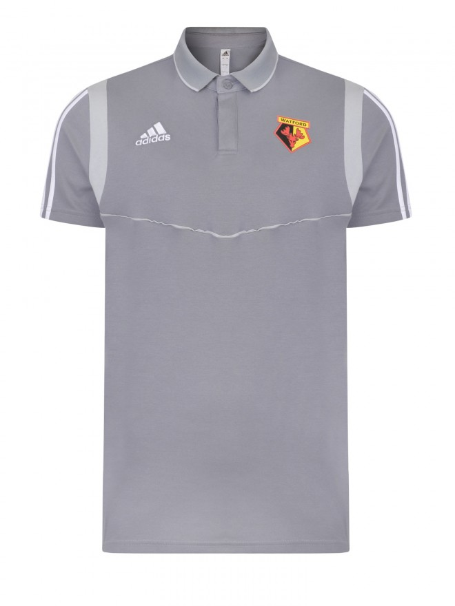 2019 JNR GREY COTTON POLO