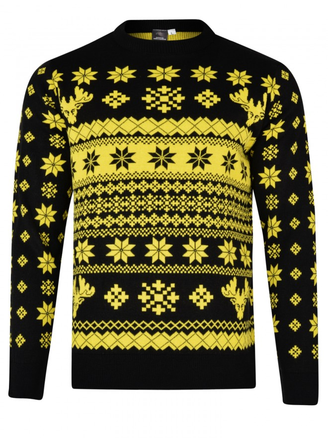 ADULT SNOWFLAKE CHRISTMAS JUMPER