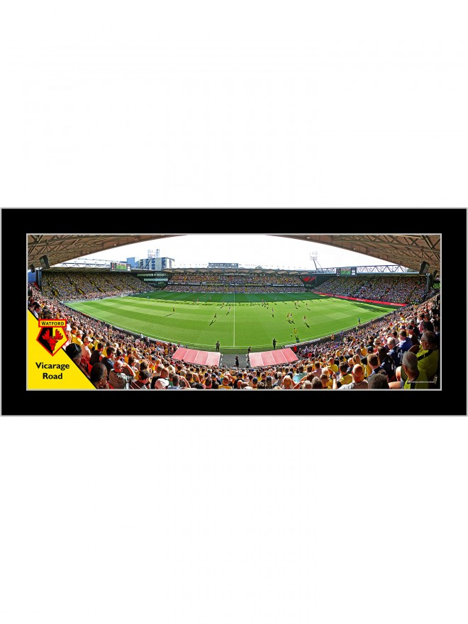 MATCHDAY FRAMED PANORAMIC - LARGE