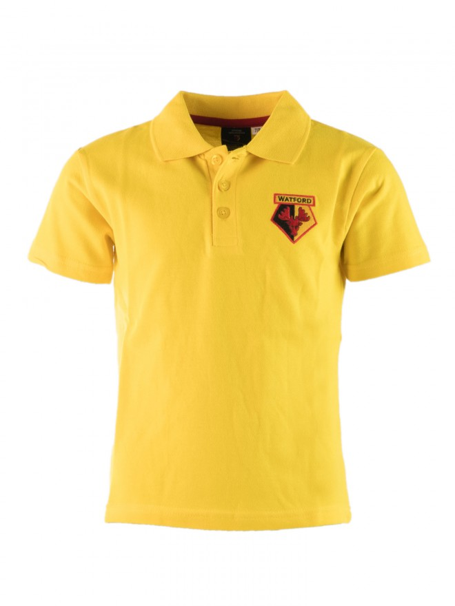 JUNIOR ESSENTIAL YELLOW POLO