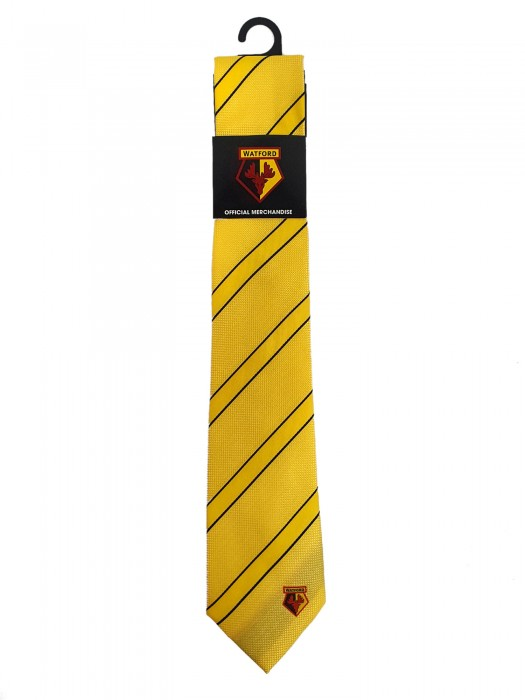 YELLOW DOUBLE STRIPE TIE