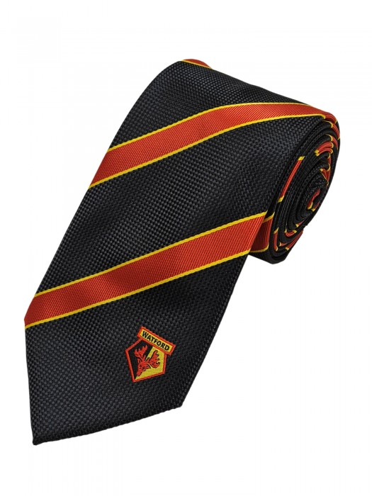 RED BAR STRIPE TIE