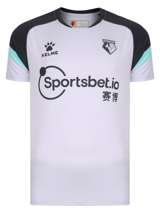 2020 ADULT S/S LIGHT GREY JERSEY