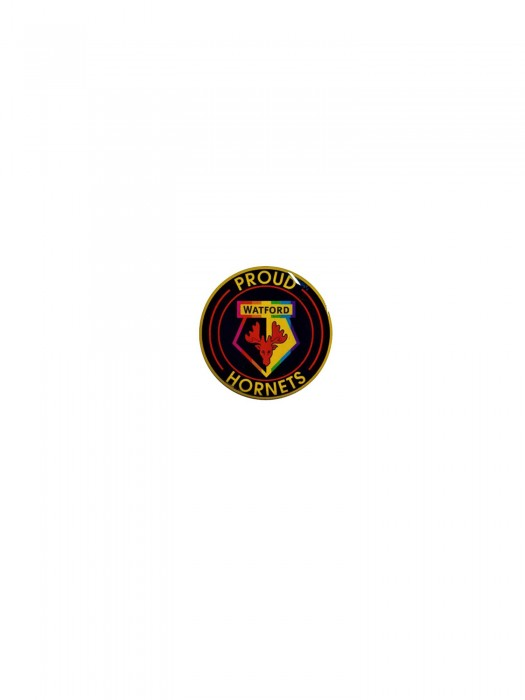 PROUD HORNETS ROUND PIN BADGE 20