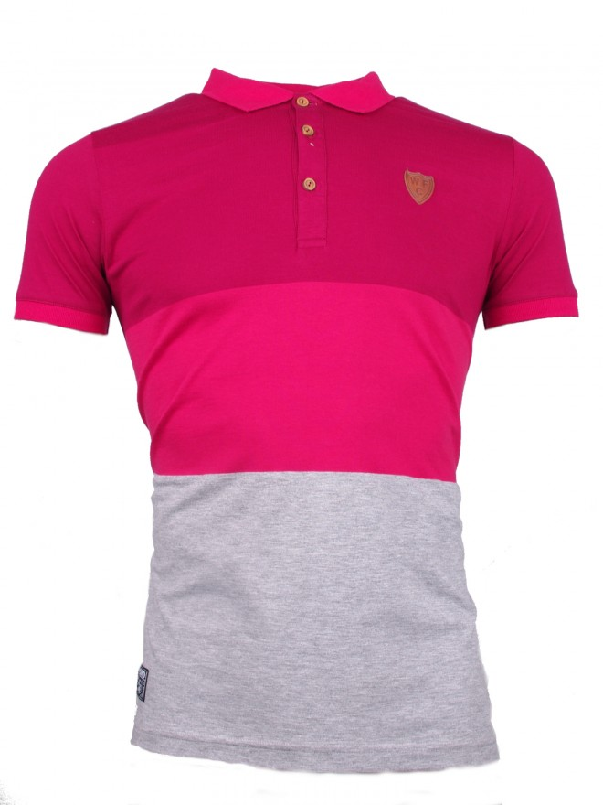 ADULT HOLMES COLOUR BLOCK POLO