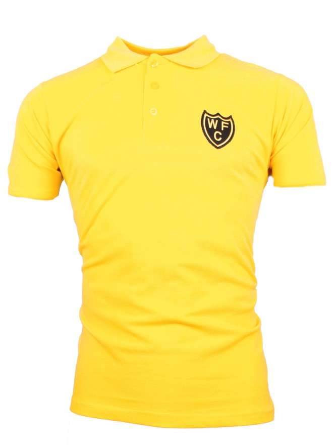 ADULT SHIELD YELLOW POLO