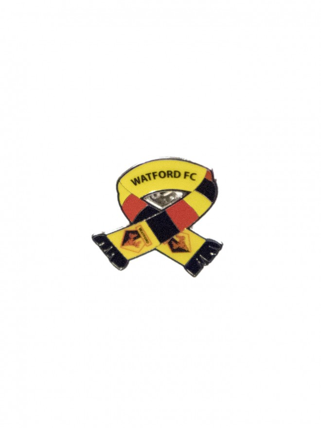 SCARF CREST PIN BADGE
