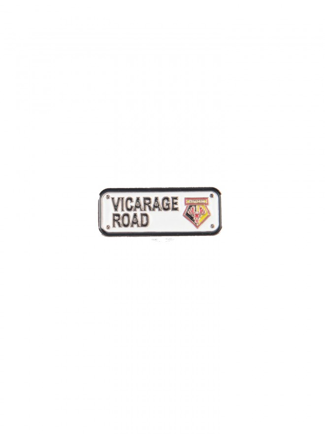VICARAGE ROAD PIN BADGE