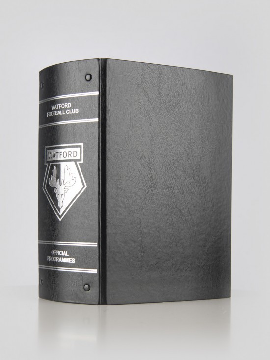 MATCH DAY PROGRAMME BINDER