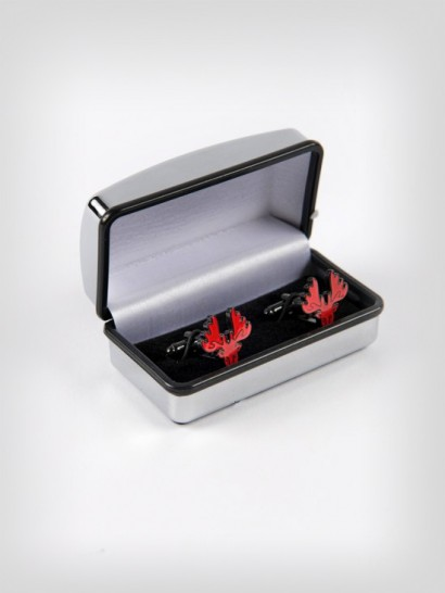 PRESENTATION HART HEAD CUFFLINKS